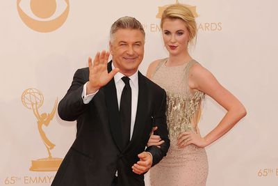The daughter of actors Kim Basinger and Alec Baldwin, 17-year-old Ireland is a bonafide star on the rise. Here she is with her TV star dad at the Emmy Awards. <br/>