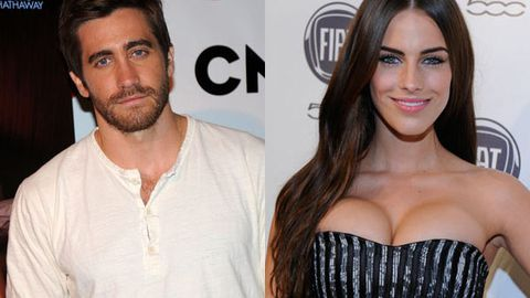Jake Gyllenhaal and Jessica Lowndes