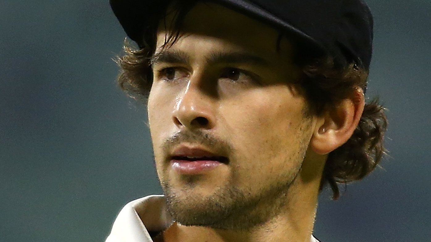 Ashton Agar cops nasty cut after freak accident in one-day cup