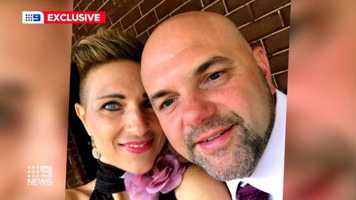 Carlo Trimboli with his wife Josephine.