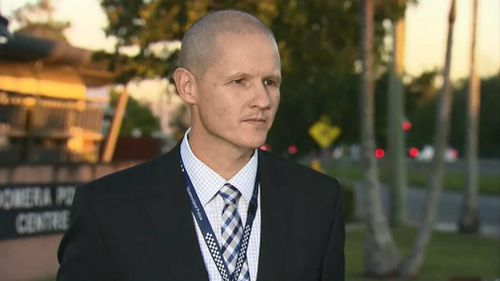 Detective Inspector Mark Thompson. Picture: 9NEWS