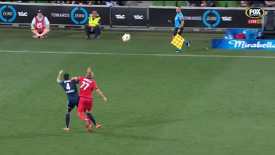 Victory snap run against Reds in A-League