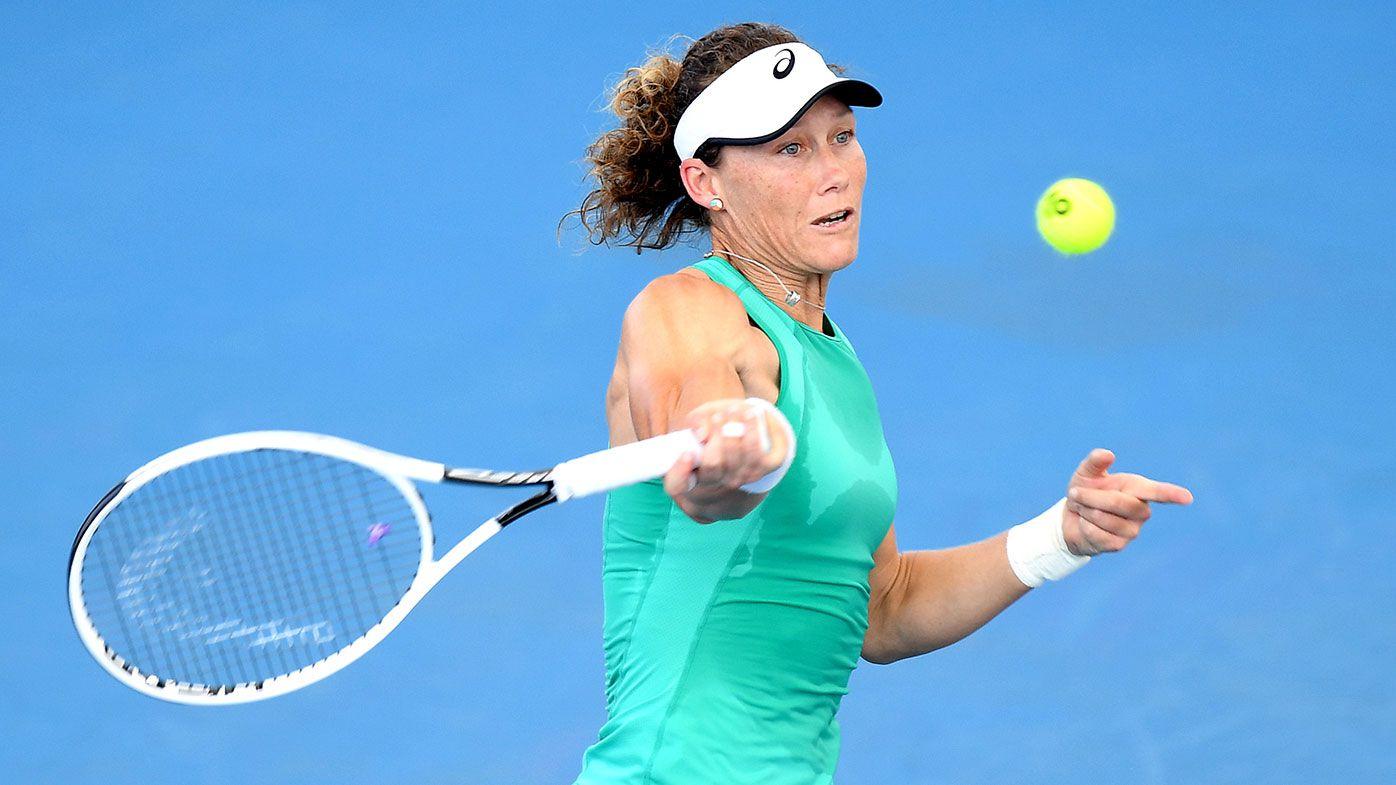 Maddison Keys ends Samantha Stosur's Brisbane run