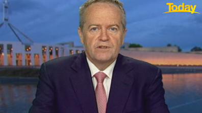 Bill Shorten said he attended the march, which he called 'a big powerful moment'.
