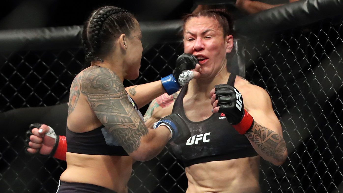 UFC's most feared woman smashed inside a minute at UFC 232
