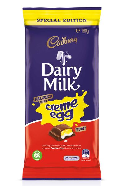 Dairy Milk launches Creme Egg block