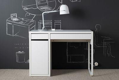 "<a href=""http://www.ikea.com/aa/en/catalog/products/90244744/"" target=""_blank"" draggable=""false"">Ikea Micke Desk, $119.</a>"