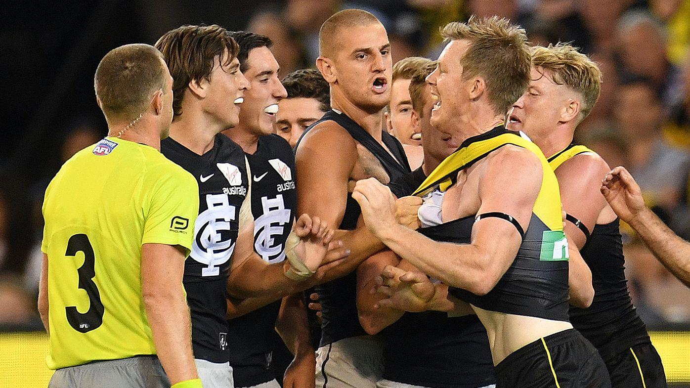 Richmond Tigers start 2018 AFL season with win over Carlton Blues