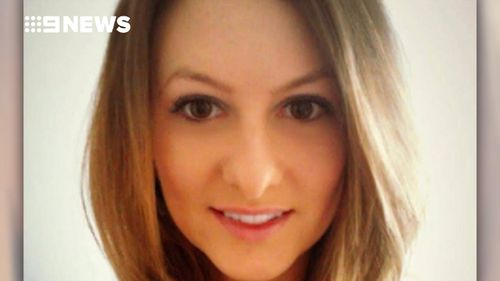 Lauren Brownlee was killed by a lightning strike in Melbourne. (9NEWS)