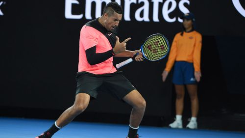 Nick Kyrgios could be getting back into Australia's good books.