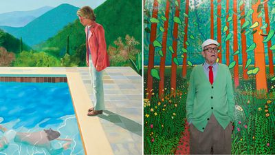 The painting Hockney sold for $18,000 just sold for over $124 million