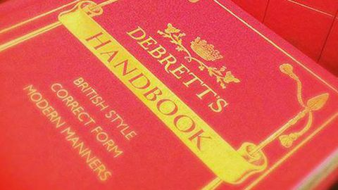 Debrett's Handbook (Facebook)