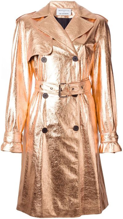 "<a href=""http://www.farfetch.com/au/shopping/women/wanda-nylon-wanda-nylon-x-tom-greyhound-metallic-trench-coat-item-10999428.aspx?storeid=9686&amp;ffref=lp_160_4_""> Metallic Trench Coat, $1113.21, Wanda Nylon X Tom Greyhound</a>"