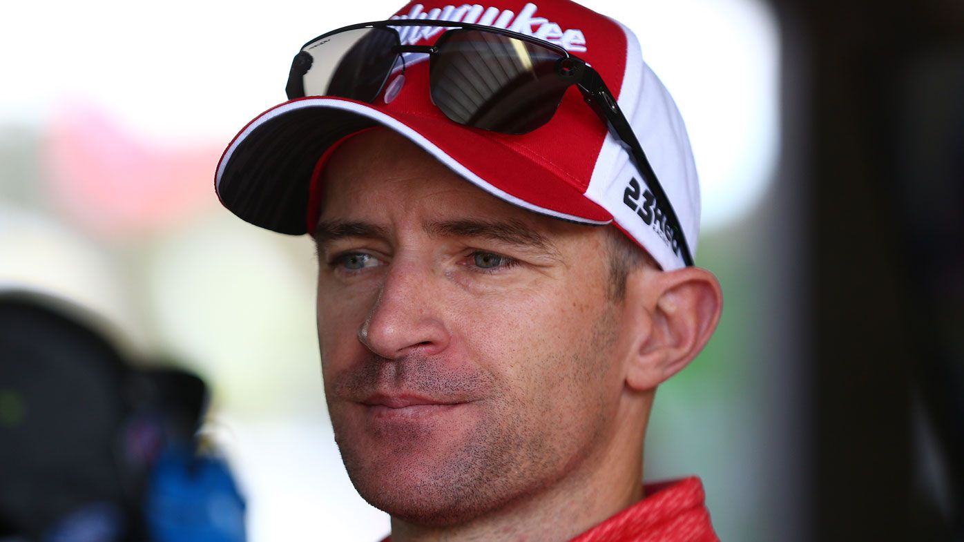 Supercars driver Will Davison hit by van on morning run