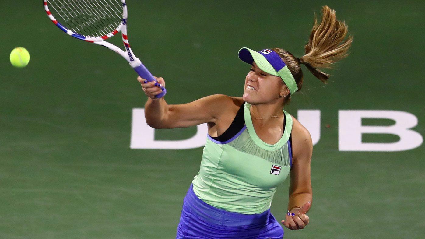 Australian Open champion Sofia Kenin falls to in-form Elena Rybakina in Dubai
