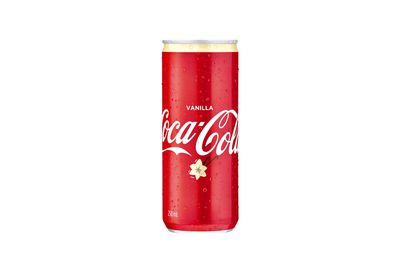 Coca-Cola Vanilla: 10.9g sugar per 100ml