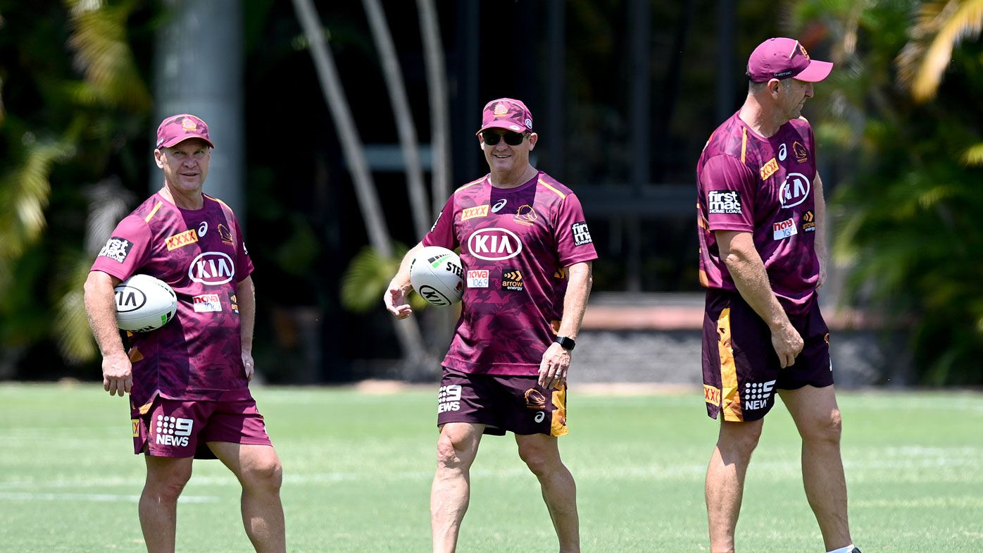NRL Integrity Unit investigating alleged altercation between Broncos assistant John Cartwright and club legend Chris Johns