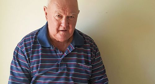 Ron, an 80-year-old widower, has been left nearly penniless after his Centrelink pension was allegedly cut off without notice.
