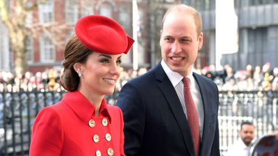 733cfaa7a8037 The Duke and Duchess of Cambridge attend a Commonwealth Day service
