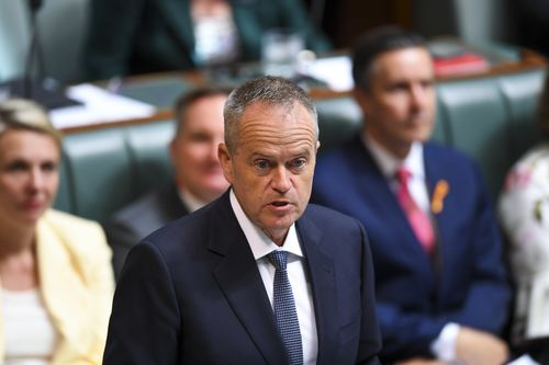 Opposition Leader Mr Shorten said borders can remain strong while the nation also looks after people in Australia's care.