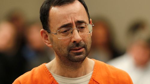 Larry Nassar will face 25 years in jail for sexually abusing girls as young as ten. (AP)
