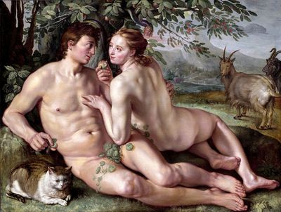 The Fall of Man, Hendrick Goltzius (1616)