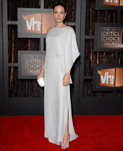 Angelina Jolie in  Atelier Verasce at the 14th Annual Critics' Choice Awards in California, 2009