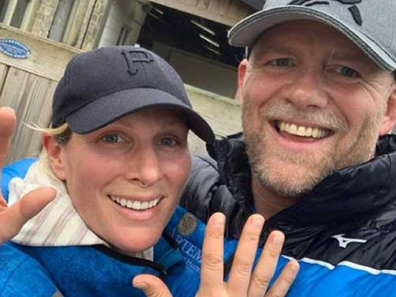 Zara and Mike Tindall on Instagram.