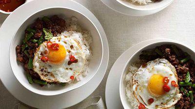 "Recipe: <a href=""http://kitchen.nine.com.au/2016/05/16/15/05/pork-pad-kra-pao-with-fried-egg"" target=""_top"">Pork pad kra pao with fried egg</a>"
