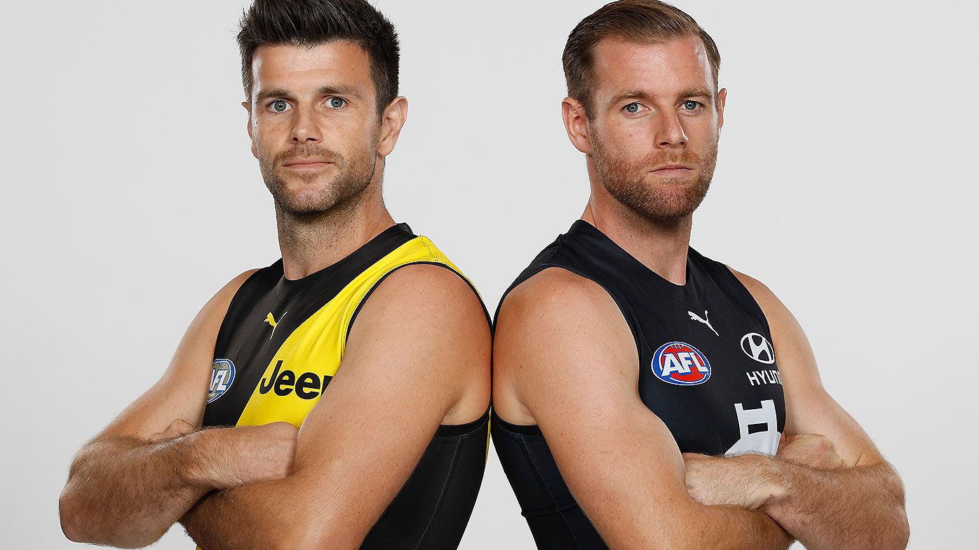 Trent Cotchin Sam Docherty