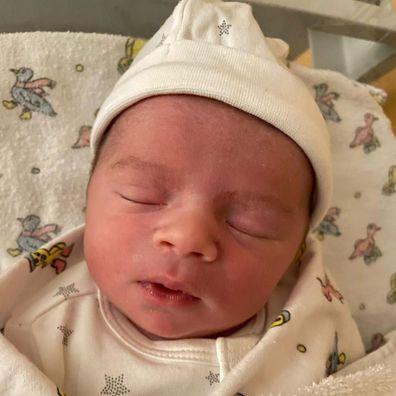 Dani Dyer birth to son