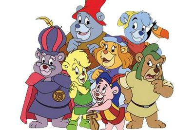 <B>Ran from:</B> 1985 to 1991<br/><br/><br/><B>Why it's awesome:</B> Disney's first attempt at a full-length animated series paid off. Gummi Bears was a step above the cheaply produced and poorly written cartoons of the time, setting the bar with its high production values and quality storytelling.