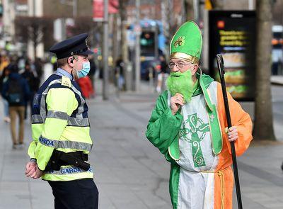 A pandemic St Patrick's Day