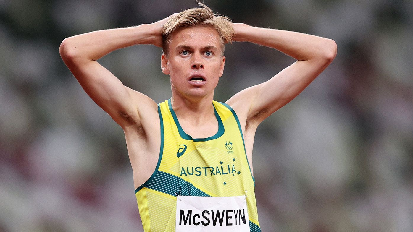 Australia's Stewart McSweyn finishes seventh, Ollie Hoare takes 11th in blistering Tokyo 1500m final