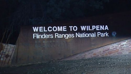 The man was last seen at Wangara Lookout in Wilpena Pound around 11am yesterday. (9NEWS)