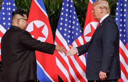 Trump and Jong-un