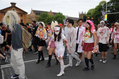 Sydney Zombie Walk on Saturday 27th October 2018