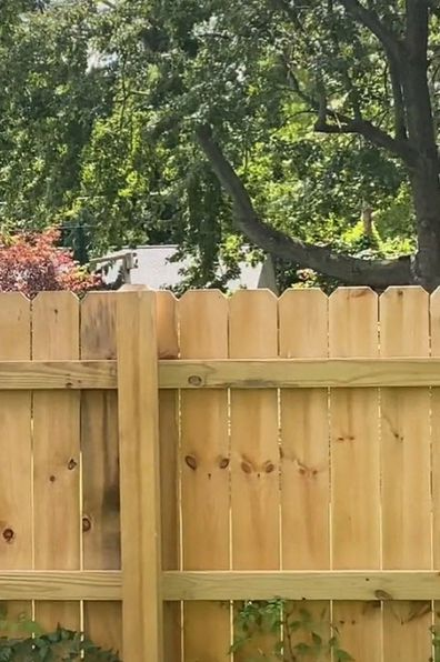 Neighbours feud fence