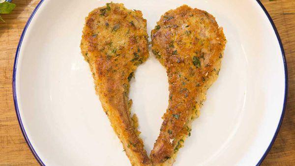 Heart shaped lamb