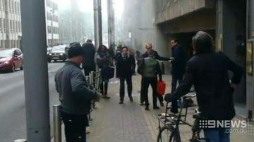 Machete-wielding man attacks police officers in Belgium