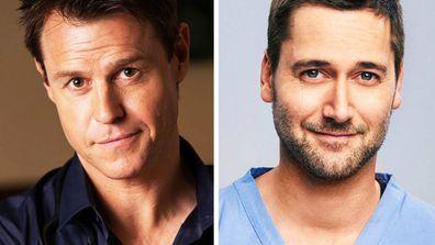 Rodger Corser Ryan Eggold TV doctors