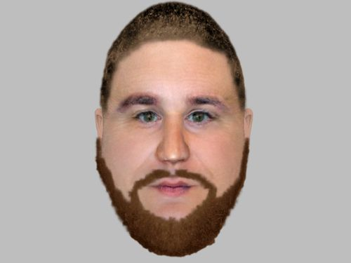 A computer-generated image of a mystery man called Sonny - a street level drug dealer who's alleged to be at the heart of the case.