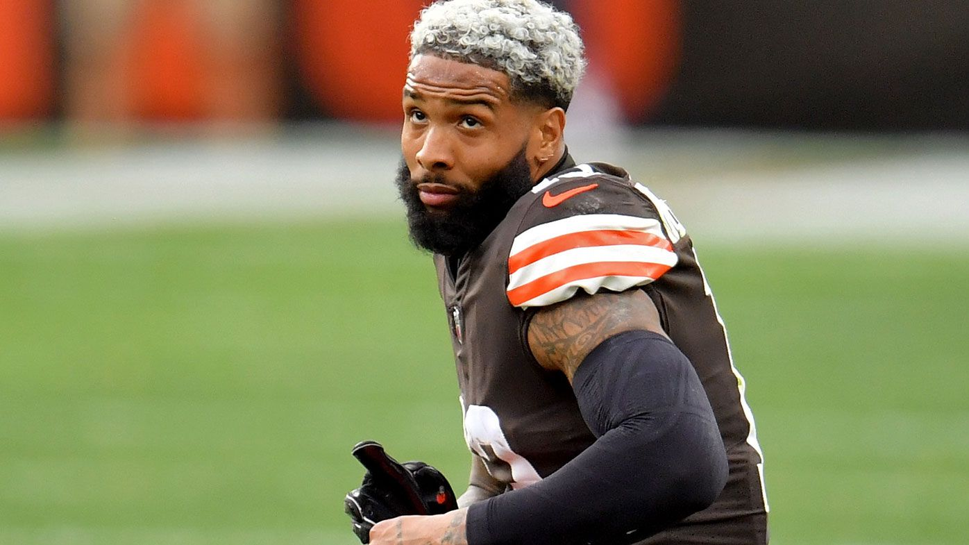 'Don't think COVID can get me': NFL star Odell Beckham jr claims he and virus have 'mutual respect'