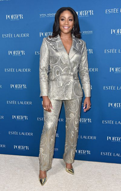 Tiffany Haddish attends PORTER's Third Annual Incredible Women Gala at The Ebell of Los Angeles on October 9, 2018 in Los Angeles, California