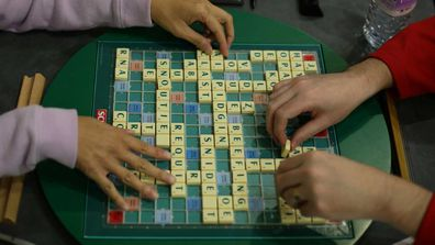 A Scrabble set. (AAP)