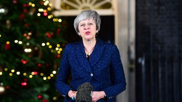 Theresa May says politicians must now get on with Brexit