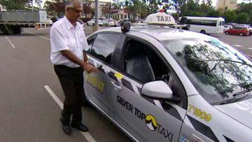 Sydney taxi driver Bashar.