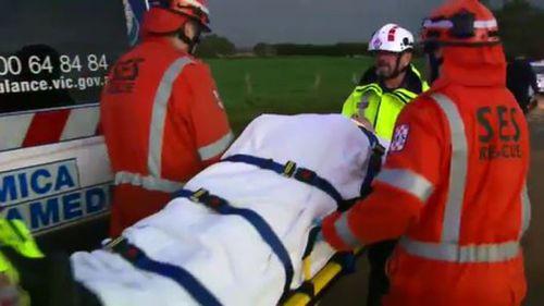 Eighteen passengers were taken to numerous regional hospitals. (9NEWS)