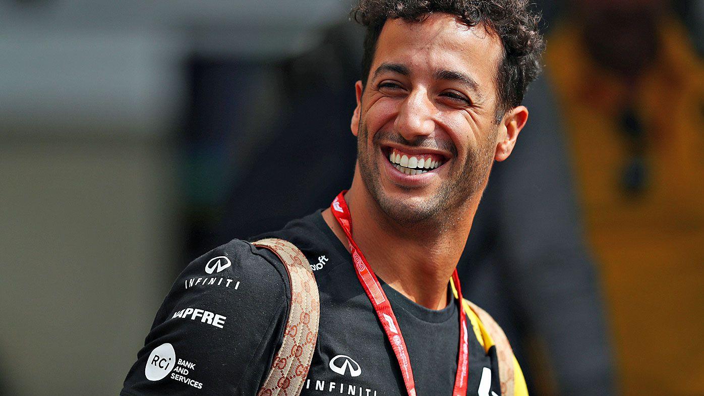 Leclerc leads fiery Belgian Grand Prix practice, Ricciardo upbeat after 'pretty good day'