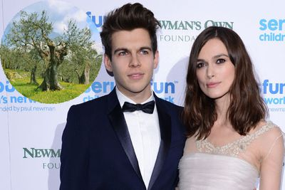 Keira Knightley now has her very own olive thanks to hubby James Righton. <br/><br/>The musician bought the 100-year-old tree for a bargain price of $5.5k engraved with his and her initials.